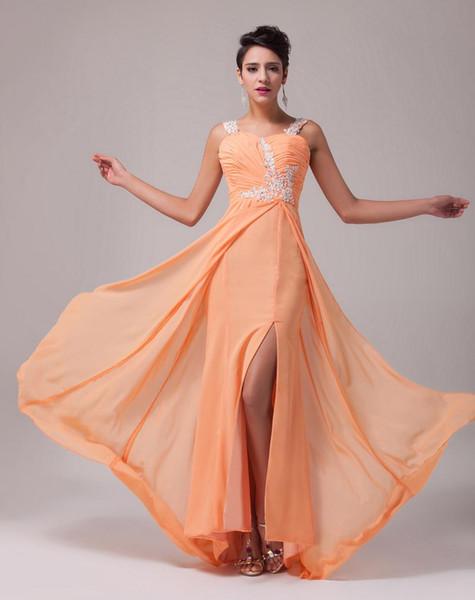 8bcab9dd5daf meruňkové šifonové společenské šaty na ples - plesové šaty